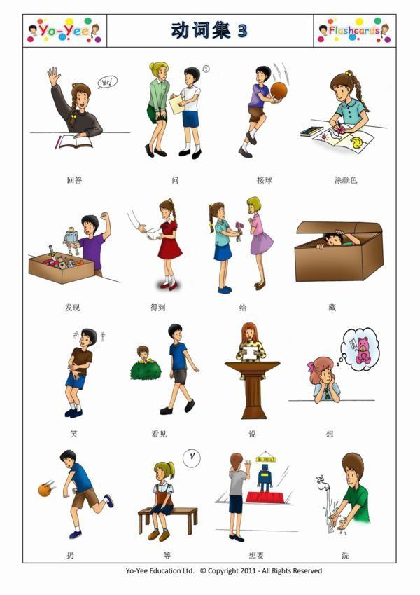 List of Verbs For Kids Kids Verbs