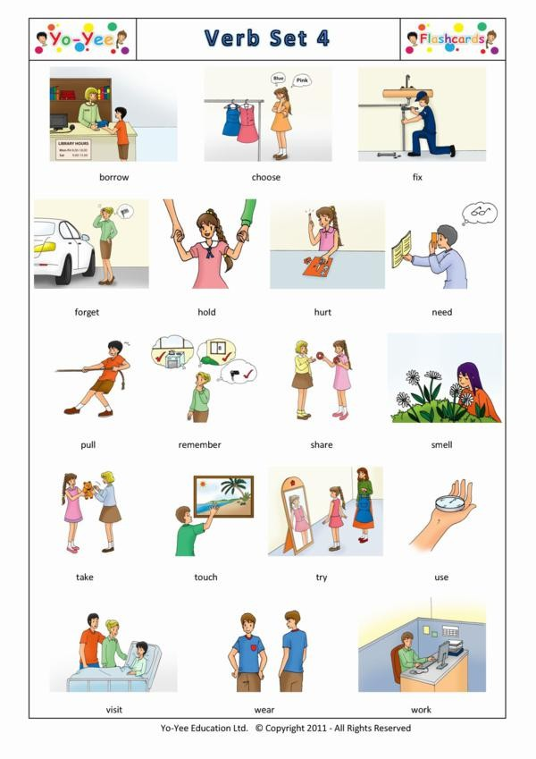 how to teach french verbs grade 4