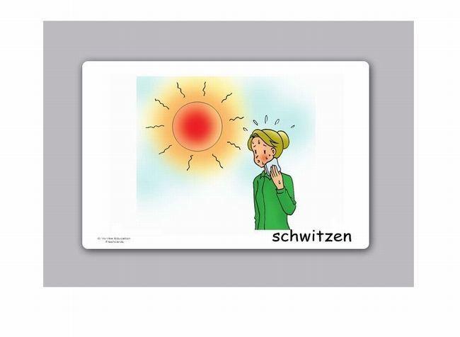 Bildkarten Gefu00fchle und Empfindungen fu00fcr den Unterricht