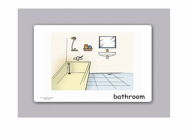 Rooms and House Flashcards for Kids : EHouseRooms3big from www.yo-yee.com size 650 x 476 jpeg 14kB