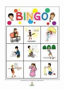 French Starter Bingo Games Play Bingo Games With